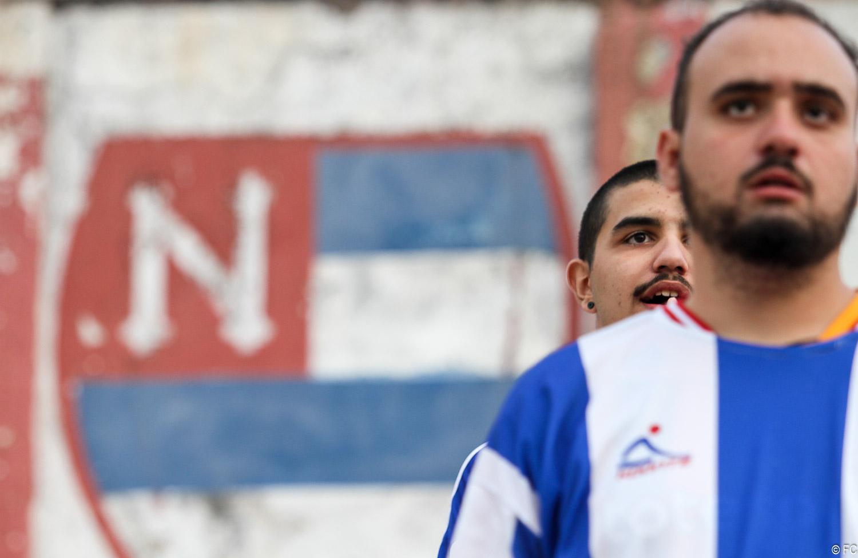 Fotos das torcidas em Nacional x Portuguesa
