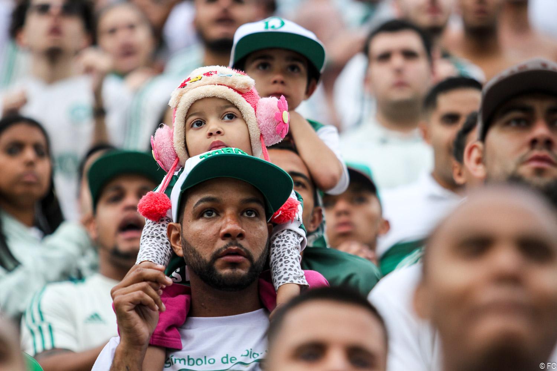 Fotos das torcidas em Palmeiras x Grêmio